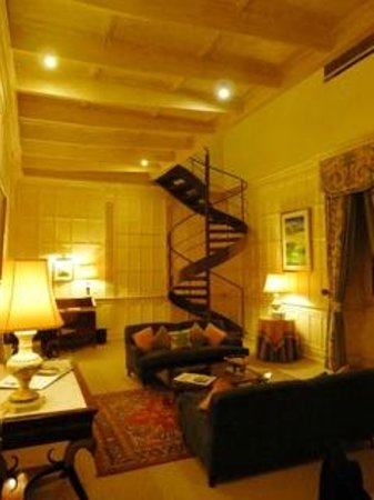 The Xara Palace Relais & Chateaux : The 'living area' of suite #4