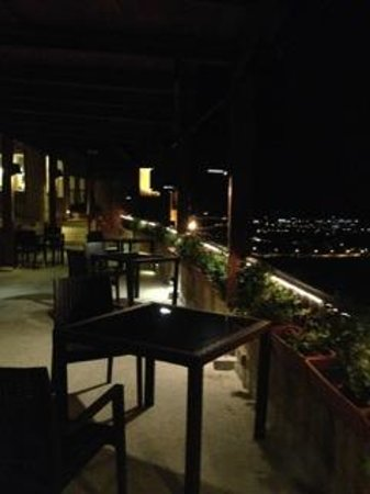 The Xara Palace Relais & Chateaux : The roof terrace by night