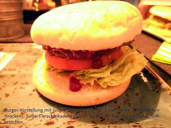 HANS IM GLÜCK - Burgergrill Wuppertal   Elberfeld: Burger-Vorstellung