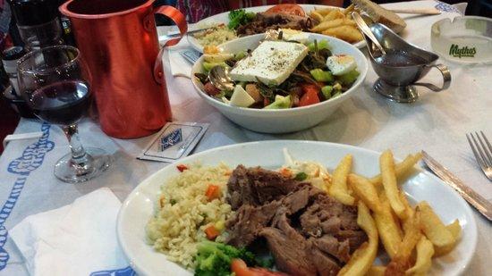 Sofia's Place: The main course, lamb