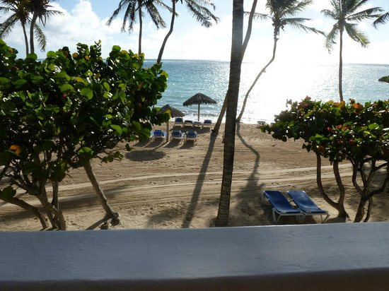 "St. James's Club & Villas : View from our balcony on ""Atlantic side"""