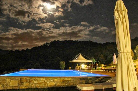 Vita Nova Casa Vacanze: Pool by Night