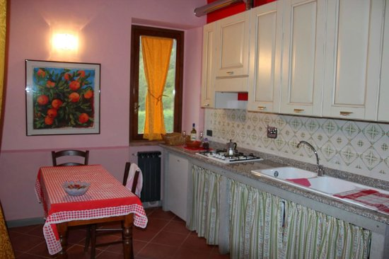 Vita Nova Casa Vacanze: Die küche