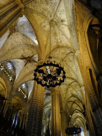 Barcelona Cathedral : cattedrale santa eulalia