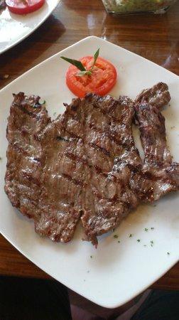 Serrano's Meat House: Steak Tampiquena