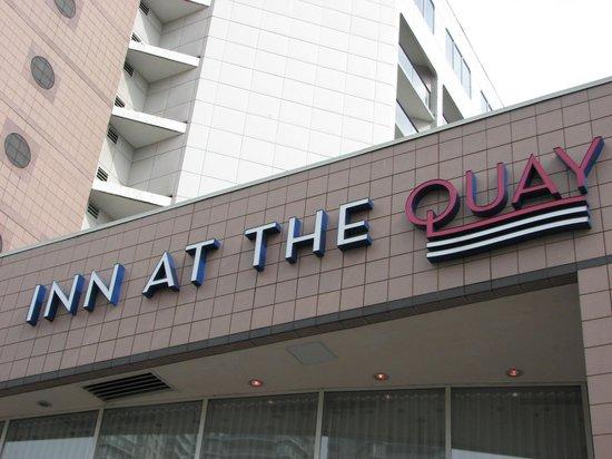 Inn at the Quay: Entrance