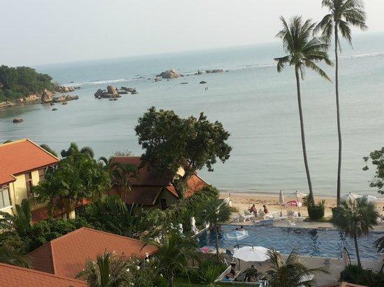 Palm Coco Mantra : vista da terrazzino