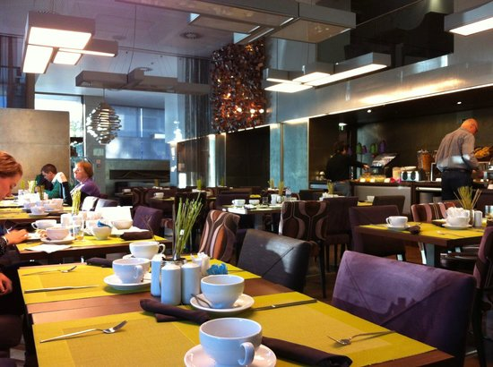 Neya Lisboa Hotel: From our breakfast table