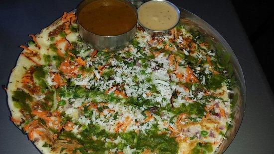 Chai Pani : Vegetable Uddapam