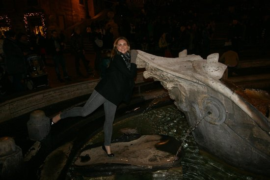 Through Eternity Cultural Association: Ashleigh at The Spanish Steps