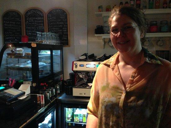 Old Iceland Restaurant : Gudrun at the helm