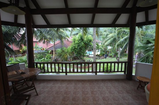 Le Duc de Praslin : View from room 40