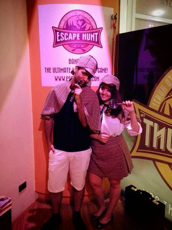The Escape Hunt Experience Bangkok: Escape hunt - Sherlocks