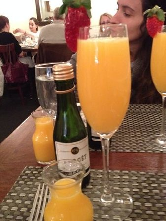 Sarabeth's West : mimosa