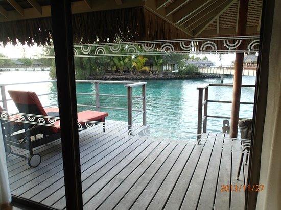 InterContinental Moorea Resort & Spa: Из номера