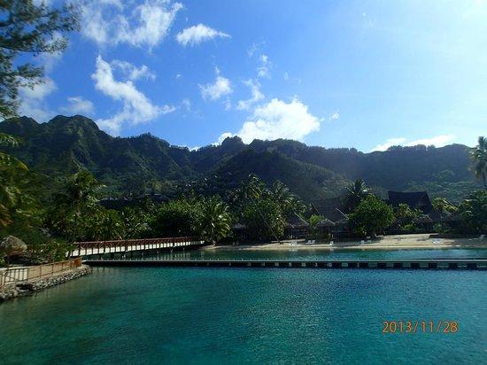 InterContinental Moorea Resort & Spa: Пляж