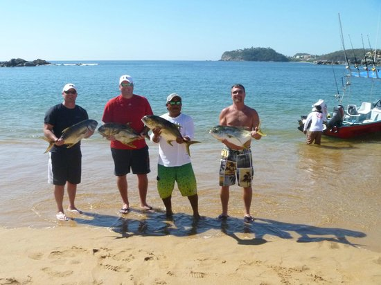 Secrets Huatulco Resort & Spa: Fishing