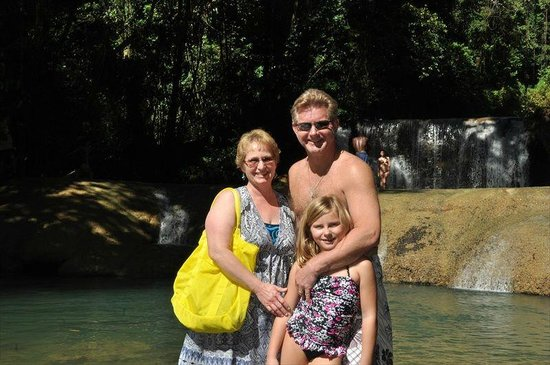 Rondel Village: Family at the Falls