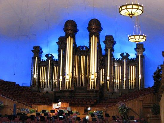 Salt Lake Temple: Pipe Organ