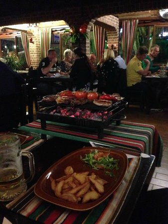 Steakhouse El Rancho: Mixed Grilll for 2!