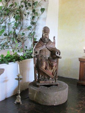 Hotel Museo Spa Casa Santo Domingo: Antique statue