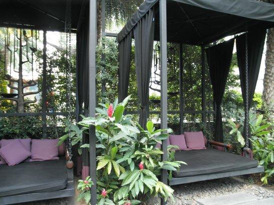 Sukhumvit 12 Bangkok Hotel & Suites: Hängeschaukeln