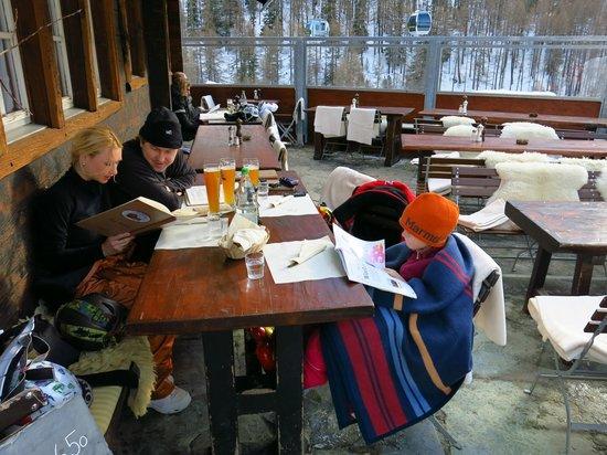 Bergrestaurant Blatten : Outside