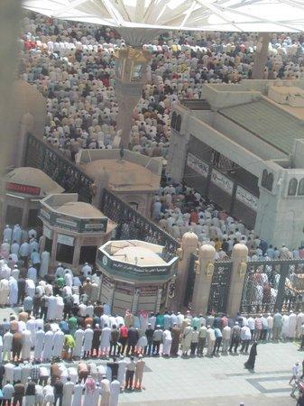 Shaza Al Madina : View from the room