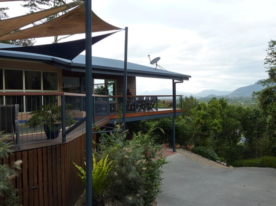 Kookas Bed & Breakfast: Kookas overlooking the valley