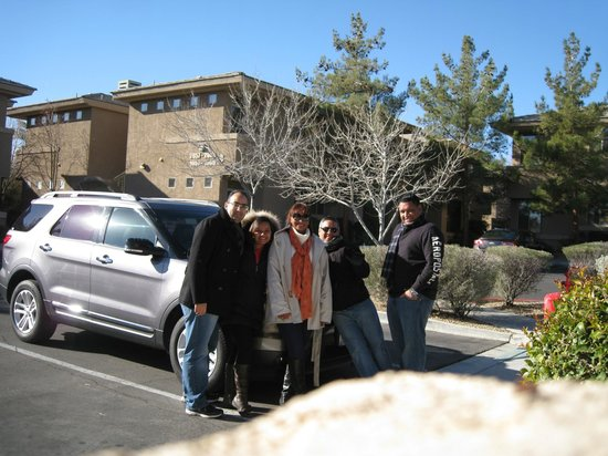 Cliffs at Peace Canyon: In front of the room
