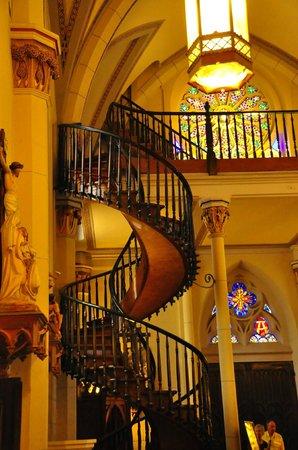 Loretto Chapel : Escalera