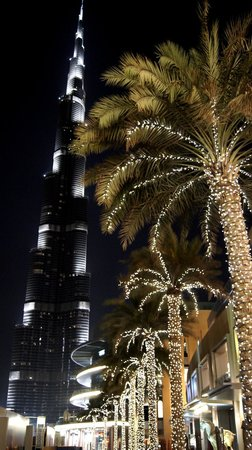 Burj Khalifa: Night shot 1