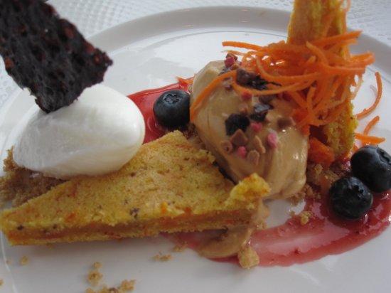 Lava Restaurant : Dessert - Carrot cake