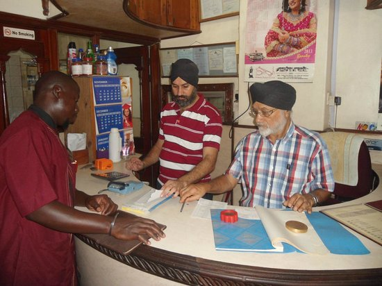 Founder and manager of Singh Restaurant