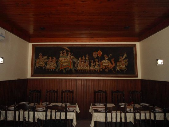 Singh Restaurant: Wall picture