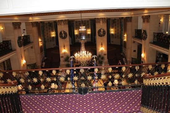 The Roosevelt Hotel: Hall de entrada