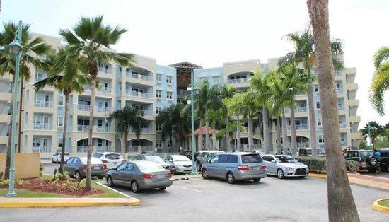 Aquarius Vacation Club : parking