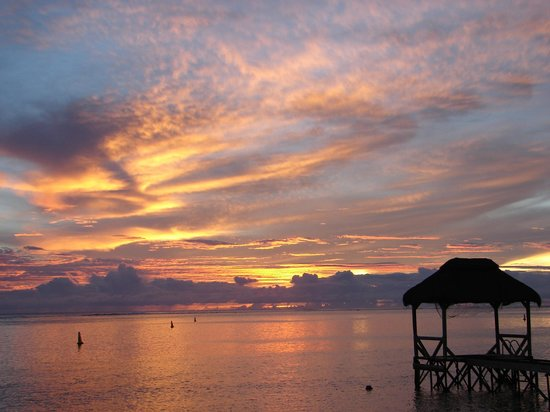 Tamassa Resort: Amazing sunsets