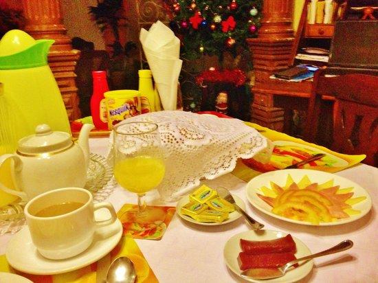 Hostal Casa José y Fátima: Ontbijt