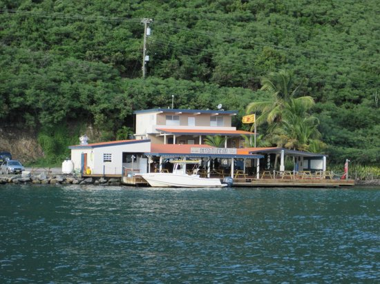 Fish 'n Lime Inn: View from the water