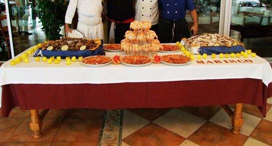 Hotel Montearagon: Aperitivo Banquetes