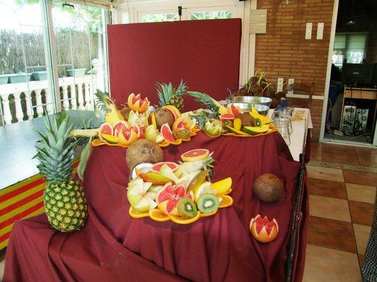 Hotel Montearagon: Barra Tropical de zumos y cocteles