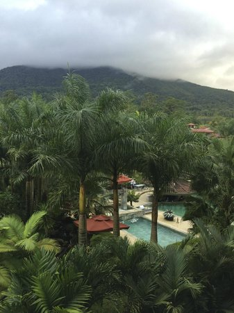 The Royal Corin Thermal Water Spa & Resort: The view from our 3rd floor room