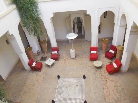 Hotel & Spa Riad Al Jazira: courtyard