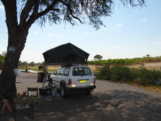 Wilderness Safaris Savuti Camp: Camp