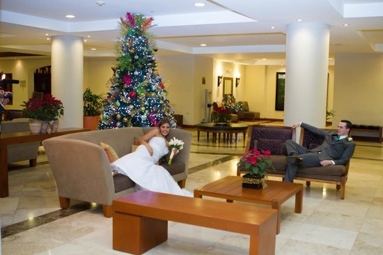 Crowne Plaza Hotel San Salvador: My son and his new wife
