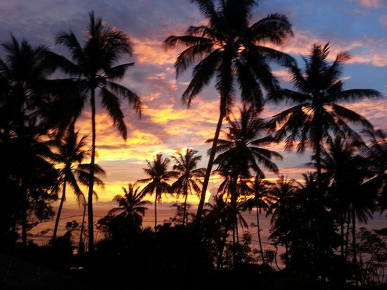 d'Oria Boutique Resort Lombok: Sunset from my balcony