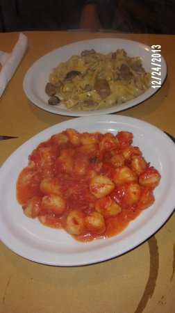 Caffe del Mercato : A couple of the dishes served