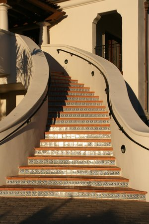 The Ritz-Carlton Bacara, Santa Barbara: Mediterranean-style steps