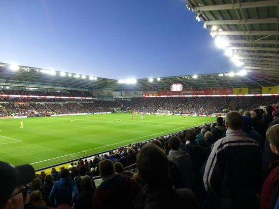 Cardiff City Stadium: Cardiff City vs West Ham